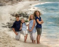 Grandchildren Make You Smile by Richard Ramsey (American) | I AM A CHILD