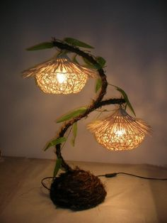 handmade home decoration ideas Hand made Creative lamps handmade decoration ideas for home - Diy Decorating Handmade Home Decor, Diy Home Decor, Handmade Lamps, Home Decoration, Diy Luz, Flower Lamp, Diy Flower, Cool Lamps, Diy Lamps