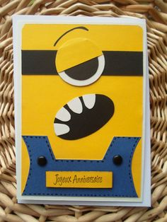 1000 images about anniversaire minions on pinterest minions minion party and despicable me. Black Bedroom Furniture Sets. Home Design Ideas