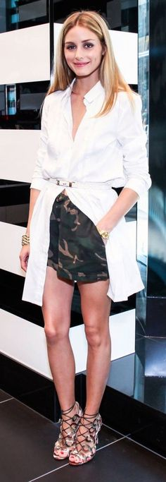 Shirt Dress over shorts