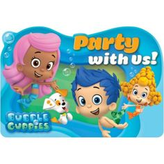 Bubble Guppies Invitations 8ct @ Party City $3.99 SKU # 599812