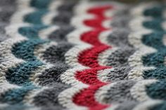 Bean's Ripple Blanket WIP by welshkaren, via Flickr
