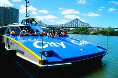 City Cat - river public transport. Loved going on these