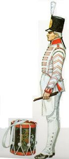 Tamburino 50° reggimento fanteria 1808