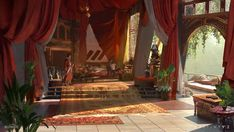 New Monarchy in Destiny 2 by Sung Choi The Art of Destiny, Volume 2 Egypt Concept Art, Concept Art World, Fantasy Concept Art, Environment Concept Art, Environment Design, Concept Art Landscape, Fantasy Art Landscapes, Fantasy Landscape, New Monarchy