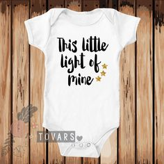 This Little Light of Mine Black and Gold Glitter Bodysuit-Toddler Shirt-Youth Shirt-Personalized Shirt-Cute Shirt-Heat Pressed by Tovars on Etsy https://www.etsy.com/listing/234209510/this-little-light-of-mine-black-and-gold