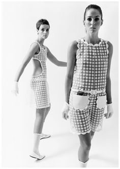 Space Age: Futuristic Fashion Designed by André Courrèges from the 1960s
