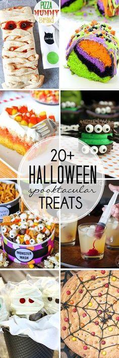 Halloween Treats   20+ spooktacular recipes!