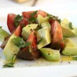 Kumato and Avocado Salad