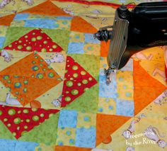 It looks like Spring in my quilt room with all of the fun tulip blocks I made from Lori Holt's Bee In My Bonnet Row Along. The top one is actually purple even though it looks blue. I finished piecing the baby quilt I am making withJacquelynne Steves fun Happy Town fabrics. It took me...Read More »