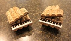 Cork Baby Grand Piano