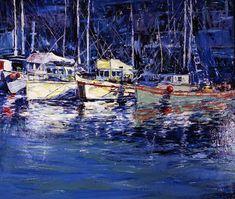 Boat Scene by Jeremy Winborg
