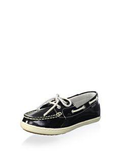 c37d5e9896d4 Eastland Women s Rosy Boat Shoe (Black Patent)