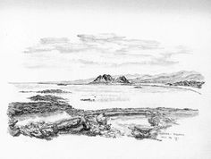 Kiotari Rhodos - Bleistiftzeichnung - Okt.95   ©Manfred Cremer, Bensberg, DE