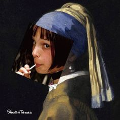 Clash of the History of Art with Pop Culture in Digital Collages Shusaku TakaokaShusaku Takaoka is a Japanese graphic designer and an expert at turning history into a hipster. His works hilariously transform some of the classical art world's most...