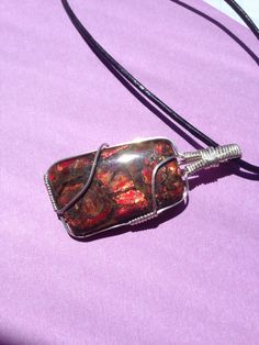 A personal favorite from my Etsy shop https://www.etsy.com/listing/231716244/canadian-ammolite-ammolite-sterling