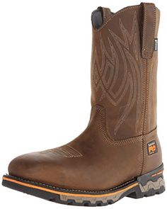 Timberland PRO Men s AG Boss Pull-On Alloy Square-Toe Work and Hunt Boot 923a79506d