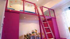 Großer Mädchentraum - eine Galerie in pink! In jedem Kinderzimmer ein Blickfang!