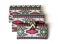 #tribal #wallet #handmade #clutch www.priscilaklein.com.br