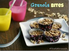 Granola Bites | thefithousewife.com #healthy #snack #kids