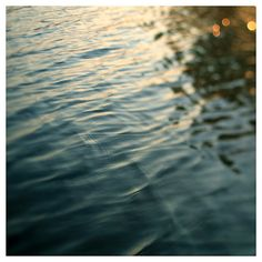 """I love water photography like this, it's so calming to me.  Beautiful light in this print.    """"Tiger's Eye"""" by AliciaBock, $35.00    #water #photography #aliciabock"""