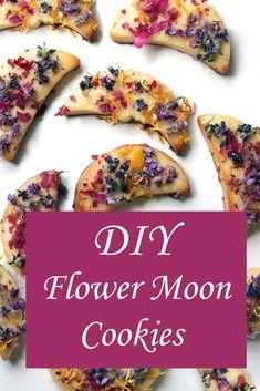 Flower Moon Esbat Cookies - Moody Moons