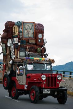 In the Coffee Triangle of Columbia, the locals worship an unlikely icon– the Willys Jeep, America's military vehicle of choice during World War II. Jeep Willys, Jeep 4x4, Cj Jeep, Jeep Truck, Willys Wagon, Utility Truck, Utility Trailer, Jeep Range, Hot Rods