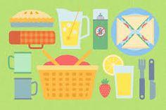 Resultado de imagem para picnic illustration