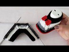 Crochet Baby Sweater Pattern, Baby Sweater Patterns, Baby Knitting Patterns, Baby Patterns, Crochet Patterns, Knit Baby Dress, Knit Baby Booties, 123 Cross Stitch, Baby Slippers