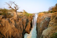 Epupa Falls en Namibie, Nambia
