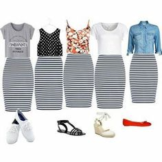 Here are a few different denim gown outfit inspirations for everyone. Fashion Mode, Modest Fashion, Womens Fashion, Fashion Trends, Fashion News, Mode Outfits, Fashion Outfits, Mode Rockabilly, Summer Outfits