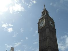 Big Ben is one of the most famous landmarks in the world. Officially Big Ben does not refer to the clock tower but to the huge bell that is inside.