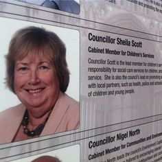 Did I mention that ...... controversial conservative councillor Sheila Scott has stepped down as a cabinet member after announcing she will not stand for re-election next year.  No doubt those peeps who protested against the closure of Childrens Centres etc are a trickle bit happy? :)