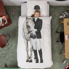 Wyjątkowa pościel dziecięca AMAZONE SNURK z koniem - NieMaJakwDomu