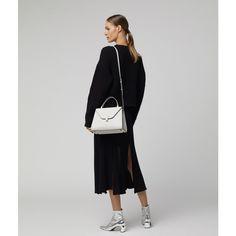Iside Medium Bag, color: Off White - Women Valextra