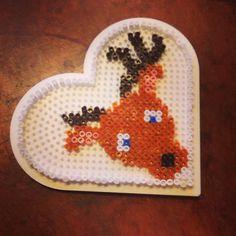 Reindeer hama beads
