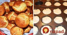 Rýchle jogurtové žemle pečené vo forme na muffiny