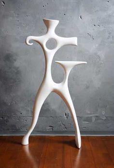 Résine; Blanc Valet De Nuit, Chambre Design, Chambre Moderne, Porte  Manteaux,