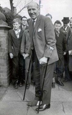 Sir Matt Busby, (Returns to Old Trafford 2 months after Munich disaster)