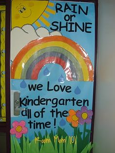 Did this this past spring. My K-5 LOVED it!! I had them make hand prints with paint to serve as flowers at the bottom.