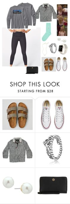 """""""Cozy Days"""" by ashleybrooke-iii ❤ liked on Polyvore featuring American Eagle Outfitters, Converse, True Grit, Ivanka Trump and Tory Burch"""