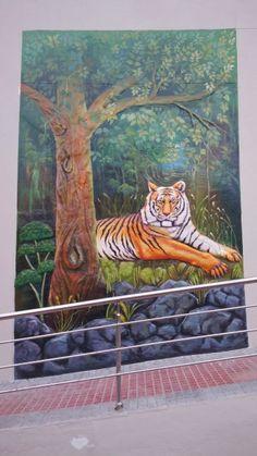 Indian wall murals