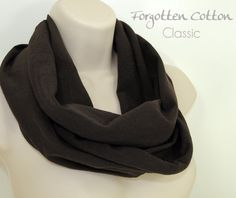 Shoply.com -Infinity Scarf Chocolate Brown. Only $20.00