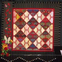 Prayers of My People by Ann Horton of Redwood Valley, California, from International Quilt Festival 2015