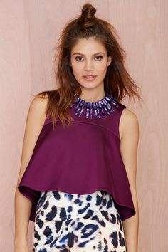 Cameo No Diggity Asymmetric Top