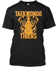 Taekwondo Tigers T-Shirt from Taekwondo T-Shirts Taekwondo Tigers T-Shirt.