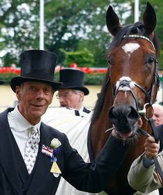 Sir Henry Cecil and Frankel.