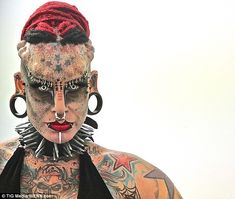 Lawyer undergoes extreme body modification to become Vampire Lady