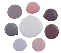 shades of purple paint - click the image to get the color specifics
