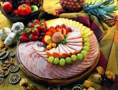 tabla de quesos y frutas - Buscar con Google